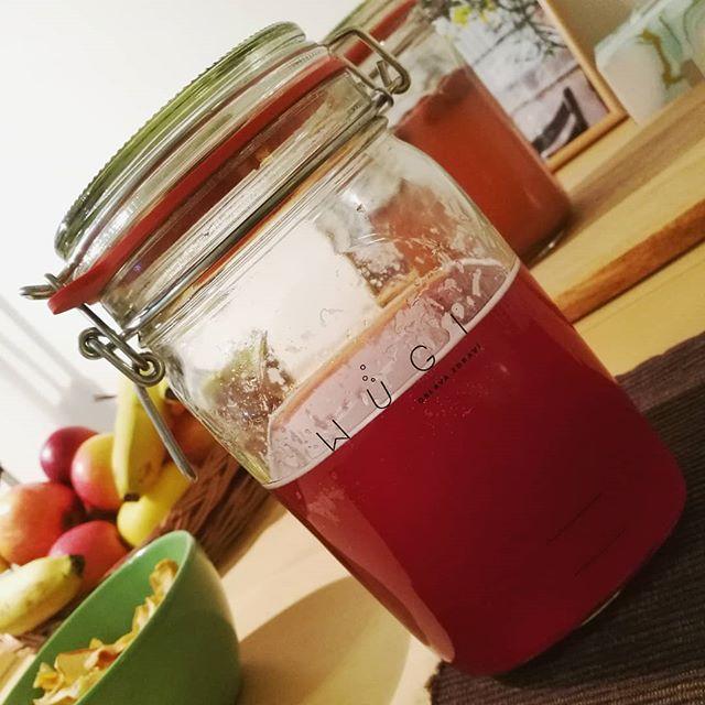WUGI vodní kefír - fermentovaná limonáda