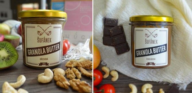 Tekutá bezlepková Granola Šufánek - Granola Butter