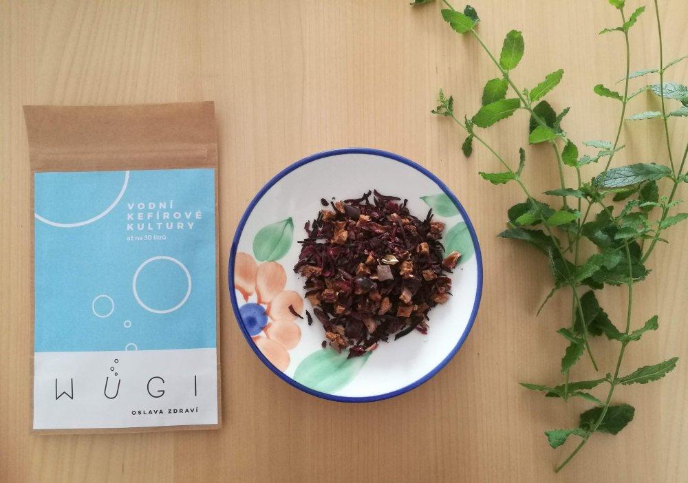 Fermentovaný ledový ovocný čaj WUGI