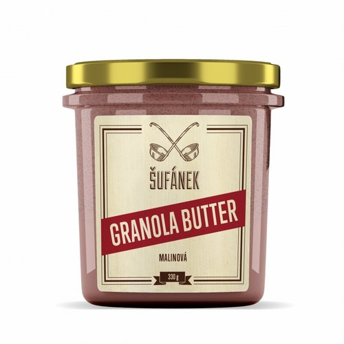 Granola butter malinová Šufánek WUGI