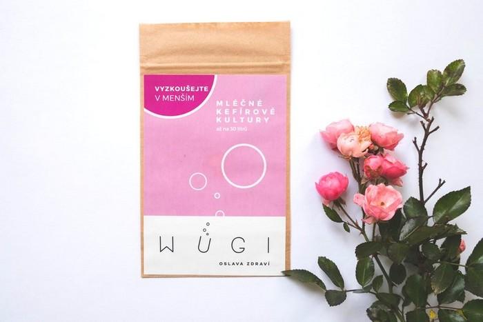 Čerstvý domácí kefír WUGI - Mléčné kefírové kultury na zkoušku