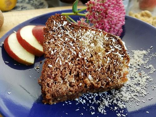 Mandlovo-kokosová bábovka cukrfree - WUGI