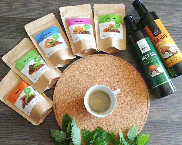 Vylepšete si svou kávu o medicinální houby WUGI.cz