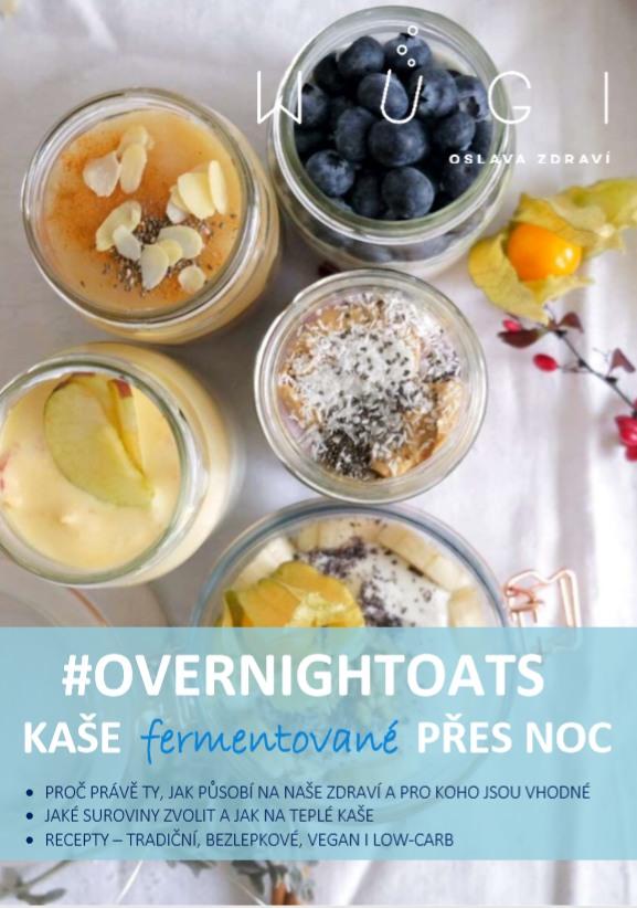 WUGI E-book o kaších přes noc (#overnightoats) - zdarma