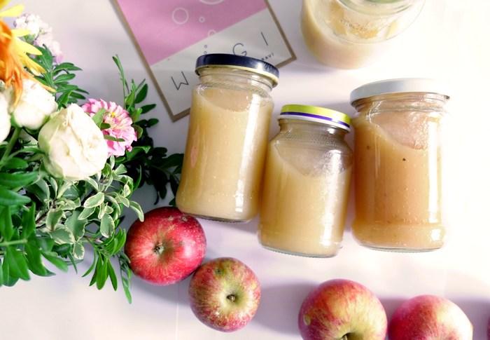 WUGI Fermentovaná jablečná přesnídávka pro děti - zdravá probiotická svačina pro nejmenší