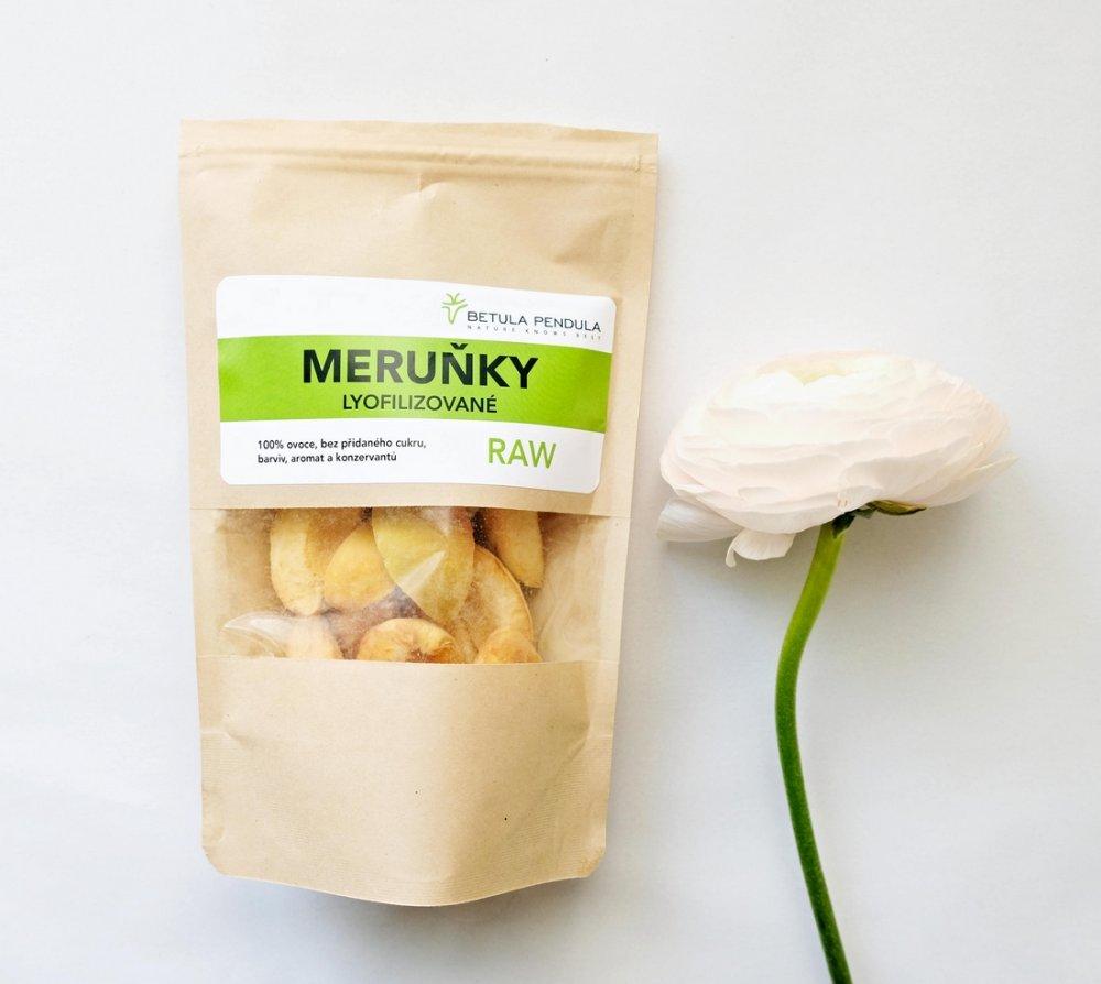 WUGI Meruňky lyofilizované sušené mrazem